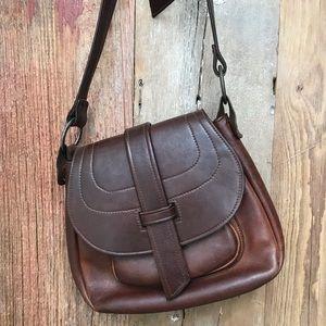 Vintage Walter Dyer Leather Crossbody
